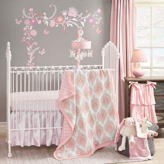 Lambs & Ivy Happi by Dena 4-pc. Charlotte Hearts Crib Bedding Set