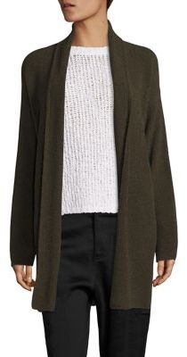 Vince Textured Shawl Collar Cardigan $465 thestylecure.com