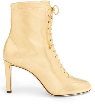 Jimmy Choo Daize lace-up leather ankle boots