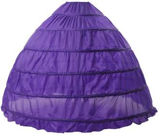 MISSYDRESS Full A-line 6 Hoop Floor-length Bridal Dress Gown Slip Petticoat
