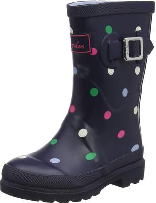 Joules Girl's Girls Printed Welly Boot