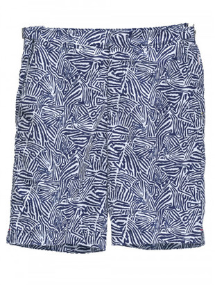 Orlebar Brown Dane butterfly printed swim shorts $275 thestylecure.com
