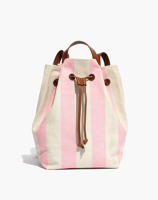 Madewell The Canvas Somerset Backpack in Stripe