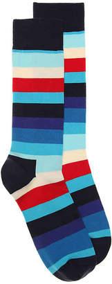 Happy Socks Colorful Stripe Dress Socks - Men's