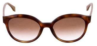 Fendi Round Tortoiseshell Sunglasses