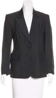 Donna Karan Pinstripe Tailored Blazer