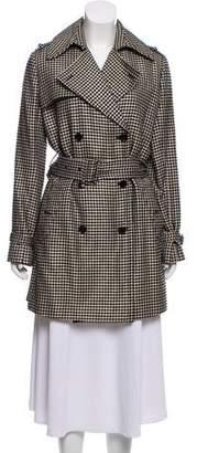 Ralph Lauren Purple Label Double Breasted Belted Coat