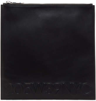 Calvin Klein Black Large Simple Pouch