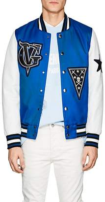 Givenchy Men's Wool-Blend & Leather Varsity Jacket