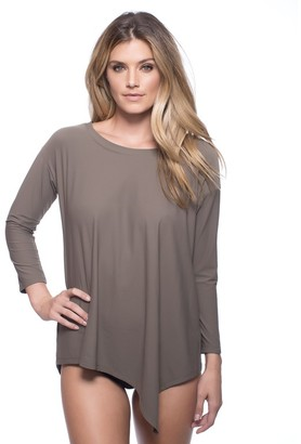 LUXE by Lisa Vogel Essential 3/4 Sleeve Top $95 thestylecure.com