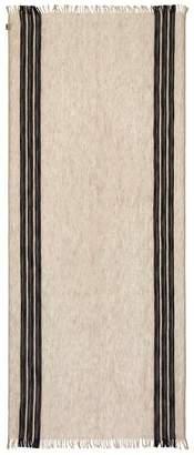 Emporio Armani Striped Skinny Scarf