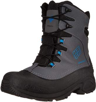 Columbia Youth Buga Plus I OH Winter Boot (Little Kid/Big Kid),aphite/Hyper Blue