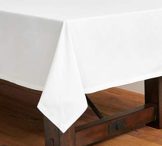 Pottery Barn Caterer's Rectangle Tablecloth - White