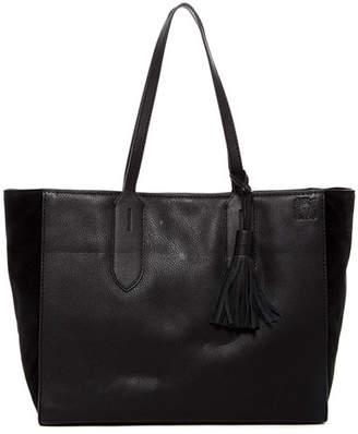 Anne Klein Julia Leather Shopper Tote Bag