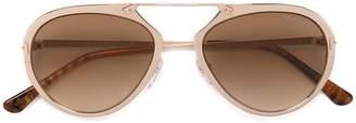 Tom Ford aviator shape sunglasses