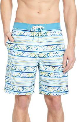 Tommy Bahama Baja Cenina Stripe Board Shorts