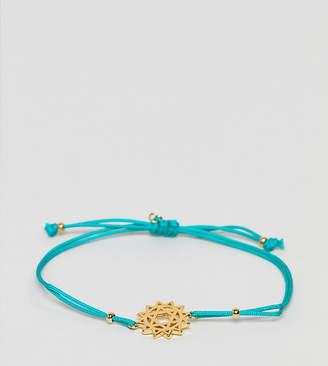 Accessorize Z Turquoise Friendship Bracelet