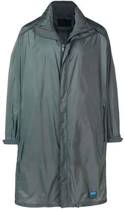 Prada classic midi raincoat