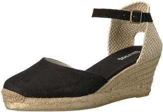 Soludos Women's Closed-Toe midwedge (70mm) Espadrille Wedge Sandal