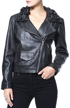 Madonna & Co Lamb Leather Moto