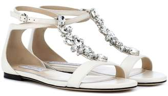 Jimmy Choo Averie leather sandals