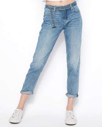 Express Ultra Low Rise Original Girlfriend Jeans