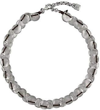 Uno de 50 Making Esses Sterling Silver Necklace