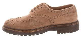 Santoni Wingtip Oxford Brogues