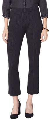 NYDJ Ponte Cropped Pull-On Bootcut Pants
