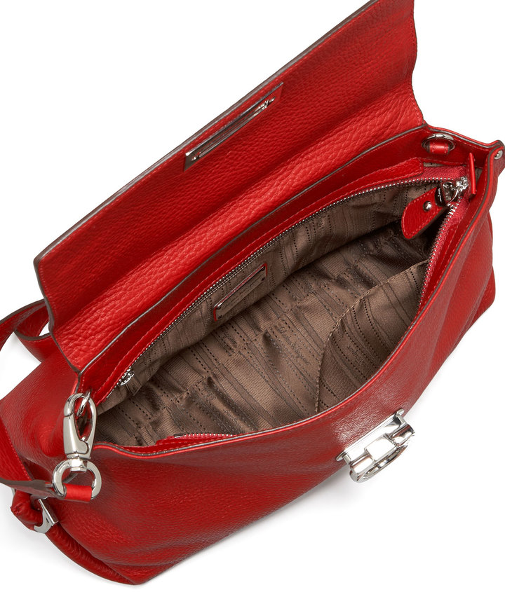 Salvatore Ferragamo Sofia Medium Satchel Bag