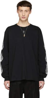 SASQUATCHfabrix. Black Kamisabiru-001 Long Sleeve T-Shirt