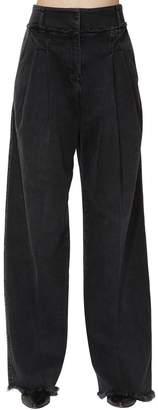 Philosophy di Lorenzo Serafini High Waist Wide Leg Denim Jeans