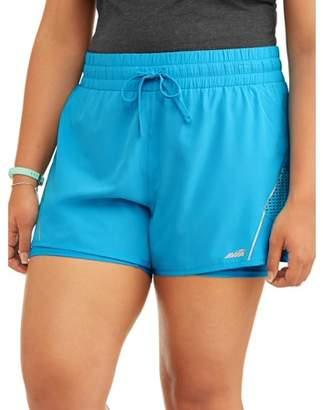 Avia Women's Plus Size Crescent Woven Short
