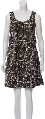 Marni Sleeveless Printed Mini Dress
