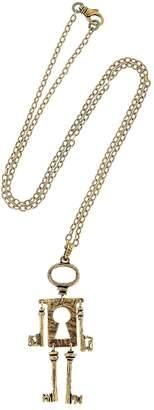 Alcozer & J Chiave Mossa Pendant Necklace