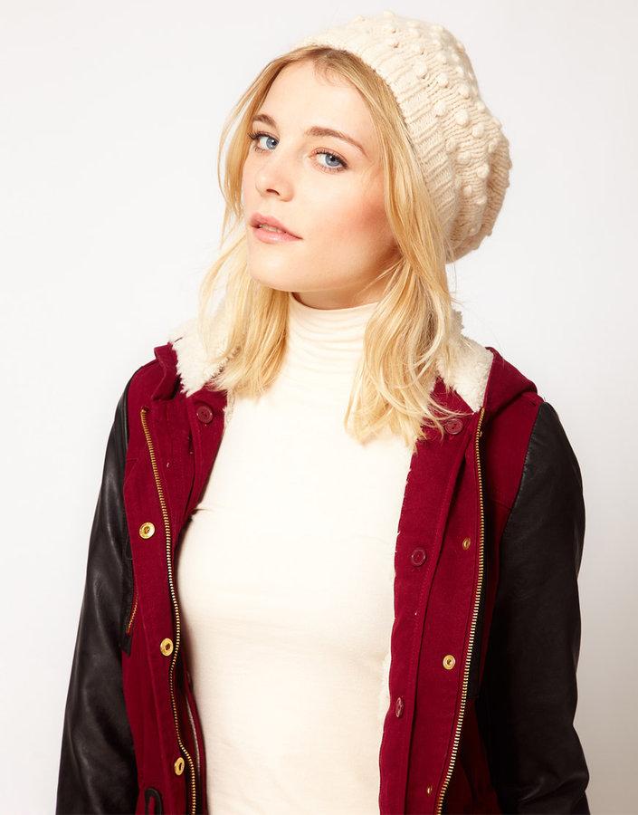Ganni Ninka Knitted Beanie Hat