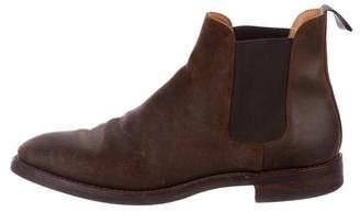 Crockett Jones Crockett & Jones Chelsea 5 Distressed Boots