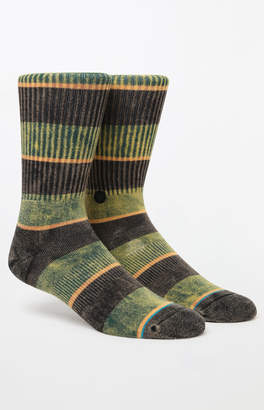 Stance Cord Washed Stripe Crew Socks