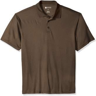 Haggar Men's Short Sleeve Marled Polo