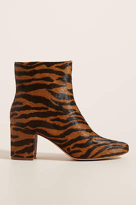 Splendid Animal Print Ankle Boots