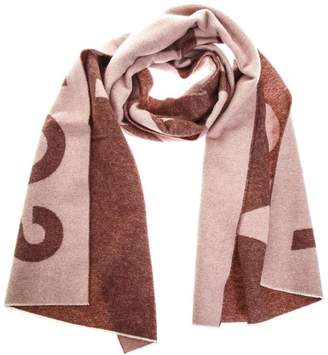 Acne Studios Two Colors Toronty Scarf In Wool