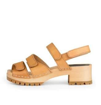 Swedish Hasbeens Velcro Strap Sandal