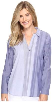 Nic+Zoe Striped Skies Top Women's Clothing
