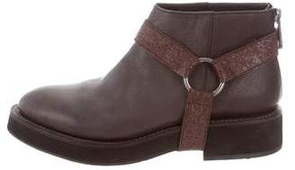 Brunello Cucinelli Moto Ankle Boots w/ Tags