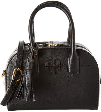 Tory Burch Mcgraw Small Leather Satchel