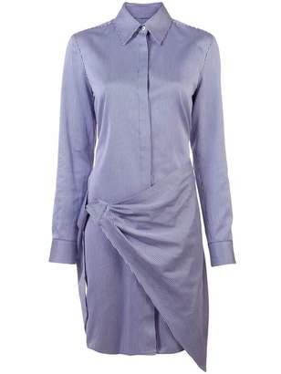 Victoria Beckham Victoria wrap front shirt dress