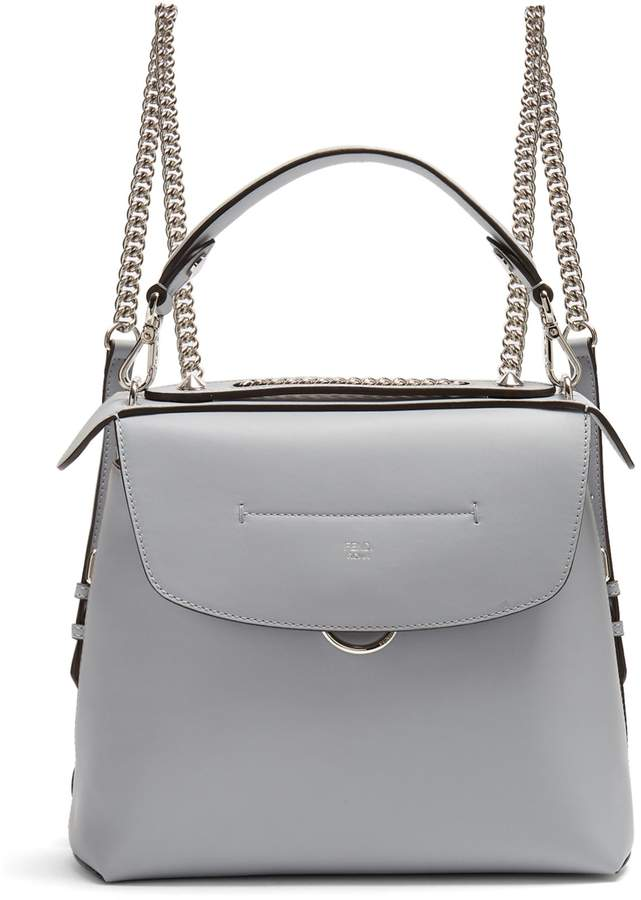FENDI Back to School leather backpack
