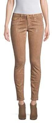 Metallic Skinny Jeans