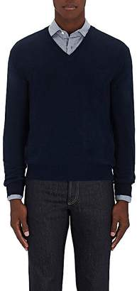 Barneys New York Men's Stockinette-Stitched Cashmere Sweater