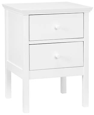 John Lewis & Partners Wilton 2 Drawer Bedside Cabinet